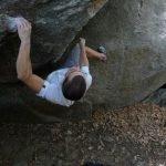 Boulder sobre el granito de El Escorial