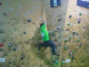 Tercera prueba Liga Escuelas Infantiles en The Climb, gran ambiente en la víspera de Reyes 1