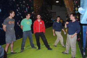 Un seminario con Johnny Dawes en The Climb 1