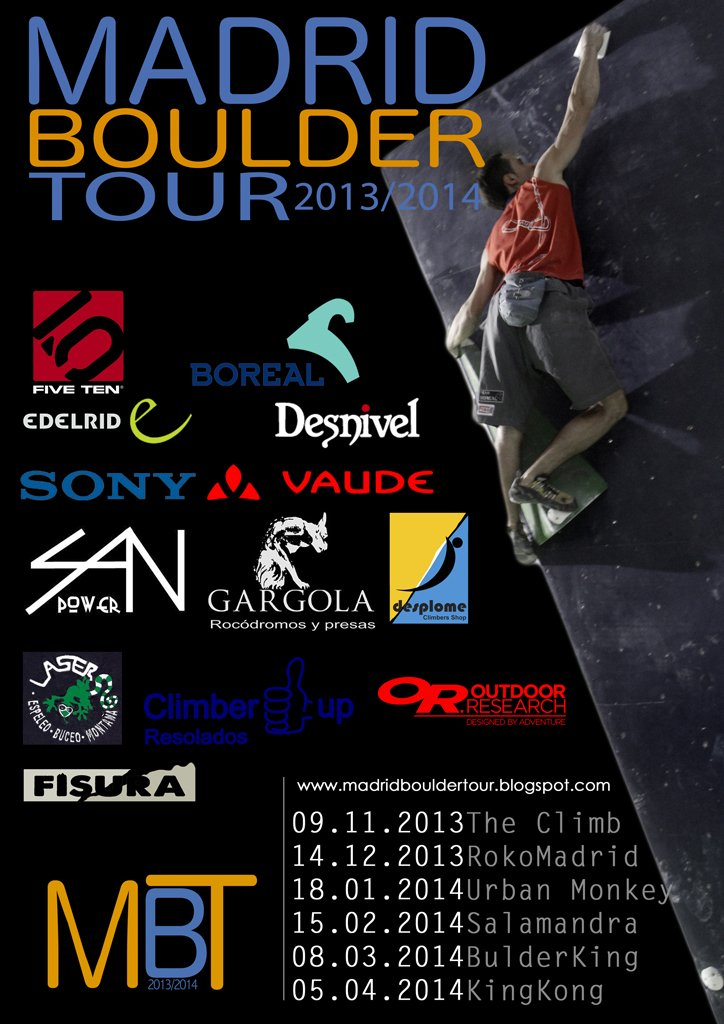 Madrid Boulder Tour 2013/14 1