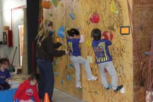 Celebrada la 1ª Prueba de la Liga de Escuelas Infantiles de la FMM en The Climb 2