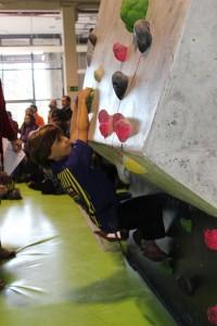 Celebrada la 1ª Prueba de la Liga de Escuelas Infantiles de la FMM en The Climb 1
