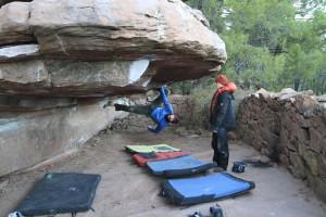 Uso y formas de pisar en la escalada. 38