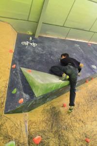 Uso y formas de pisar en la escalada. 28