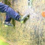 Uso y formas de pisar en la escalada. 55