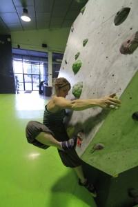 Uso y formas de pisar en la escalada. 32