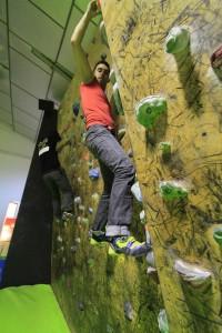 Uso y formas de pisar en la escalada. 46