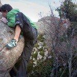 Uso y formas de pisar en la escalada. 66