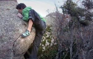 Uso y formas de pisar en la escalada. 34