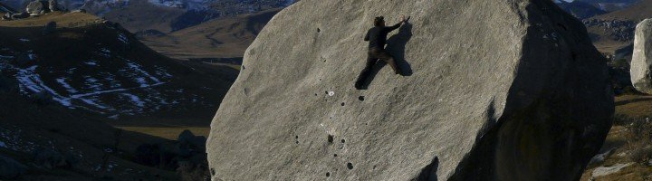 Escalada Boulder  Nueva Zelanda Castle Hill Unai Matínez The Climb
