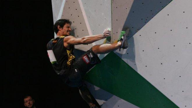 Marco Jubes en Seminfinales Campeonato del Mundo París 2012. Fuente Desnivel