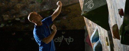 Instalaciones rocodromo escalada The Climb. Muro de competición de The Climb