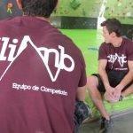 Presentación Equipo Competición Escalada The Climb 2015 2