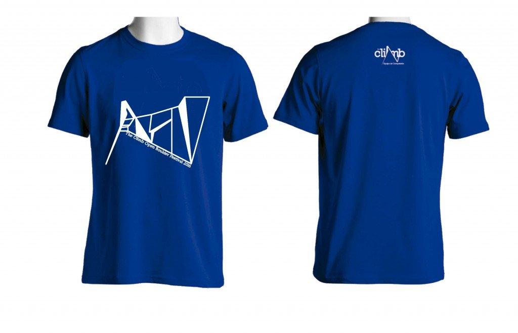 Camiseta.TheClimbOpenBoulderFestival2016