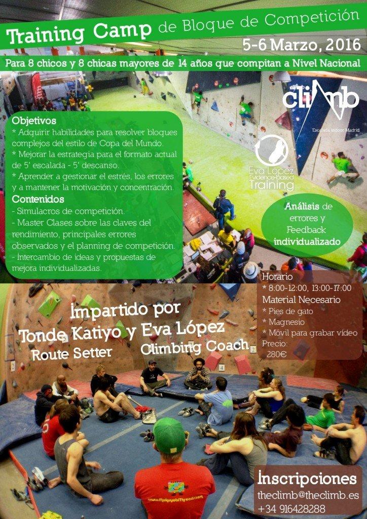 TrainingCamp_Bloque_Competición_EvaLopez_Tonde_TheClimb