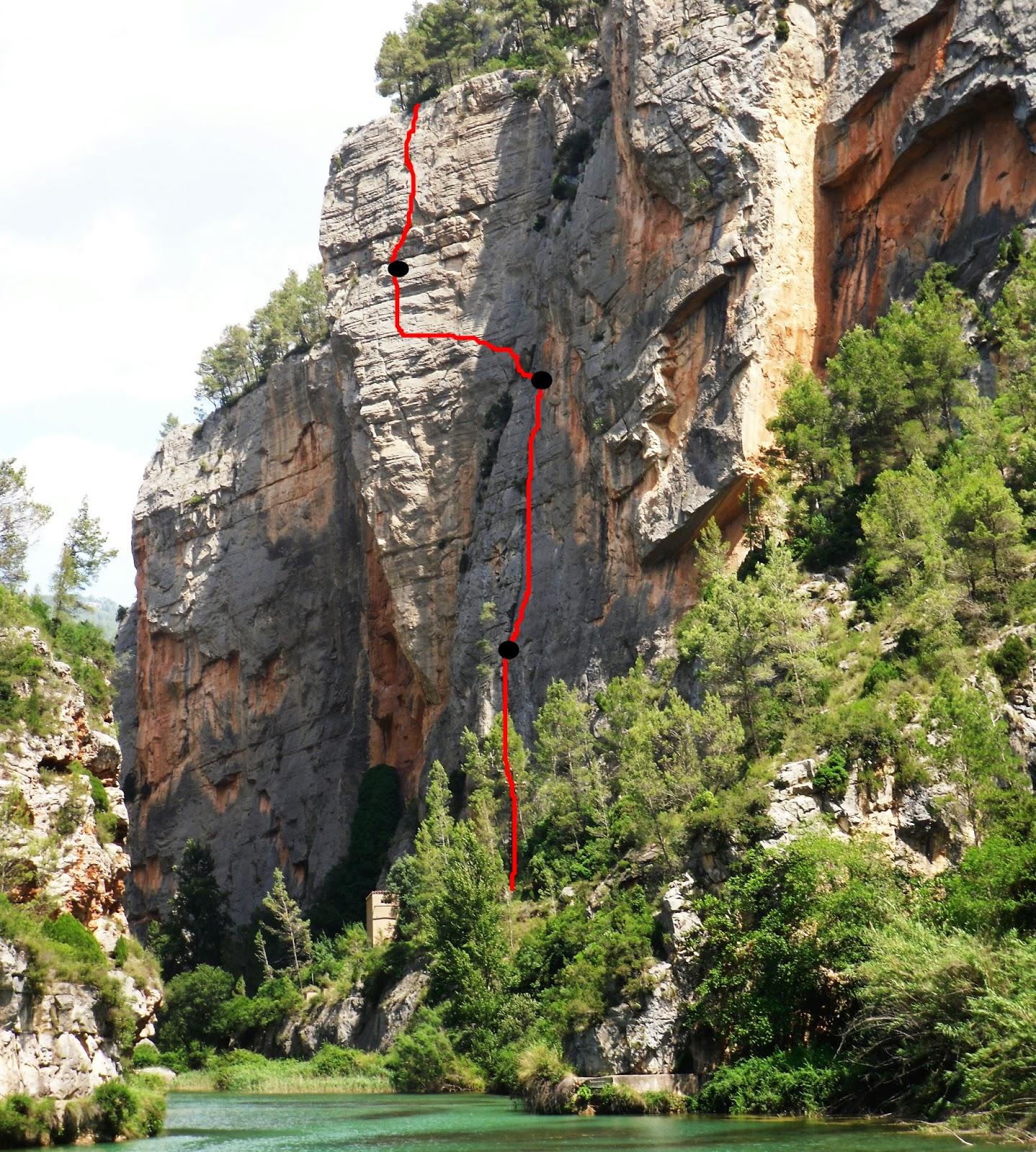 ESCALADA-LEVANTE-THECLIMB-croquis-pericondrio montanejos