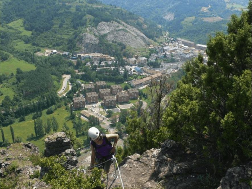 Via Ferrata Tossal de Miravet
