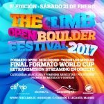 Streaming en Directo Open Boulder The Climb 1