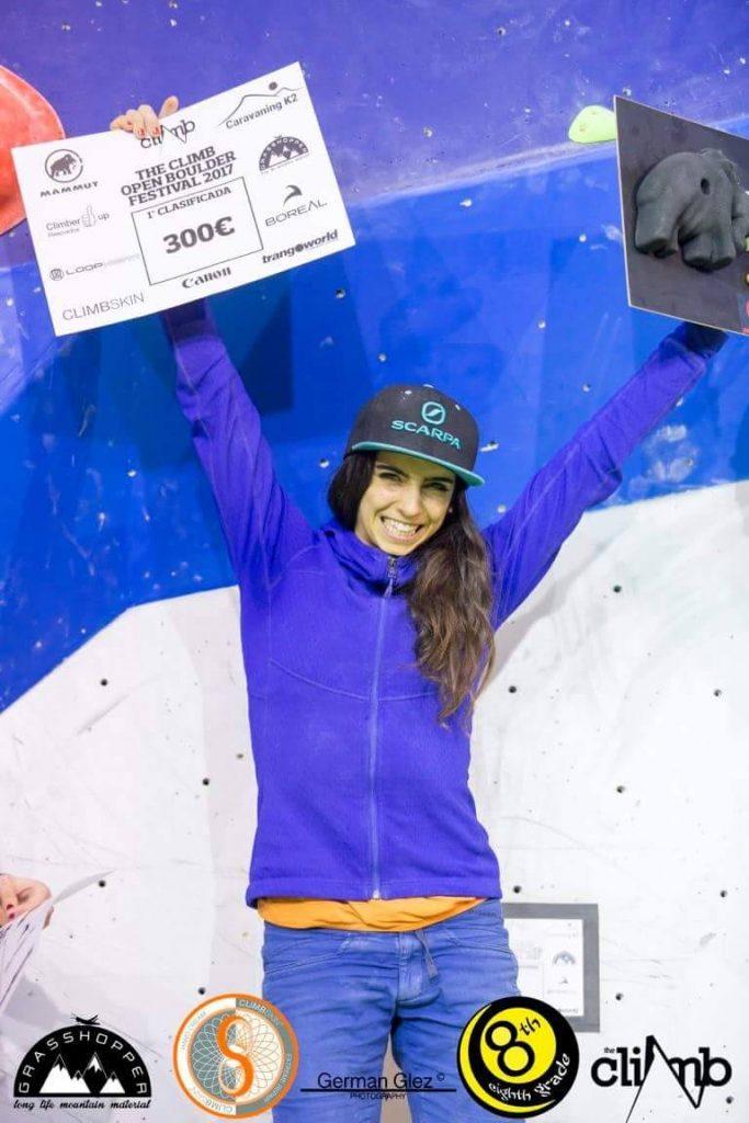 Fanny Gibert, ganadora del Festival The Climb 2017 1