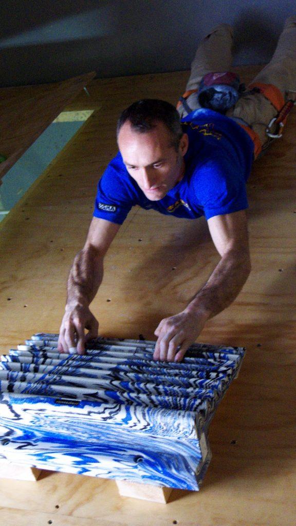 Entrevista a Israel Olcina, escalador pionero del Boulder español 2