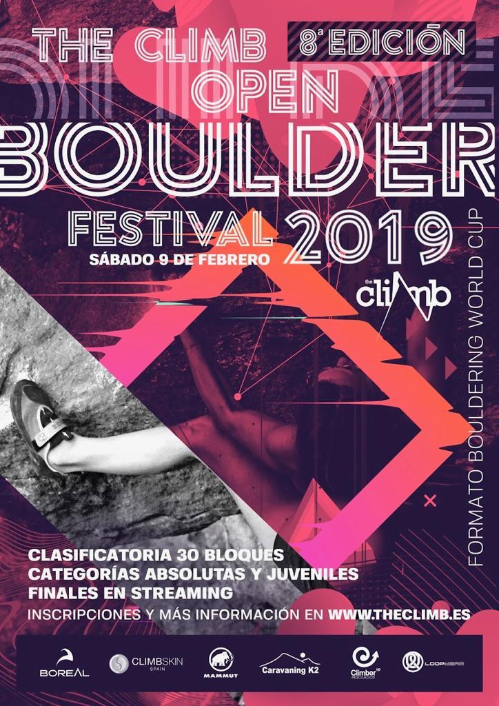 The Climb Open Boulder Festival 2019