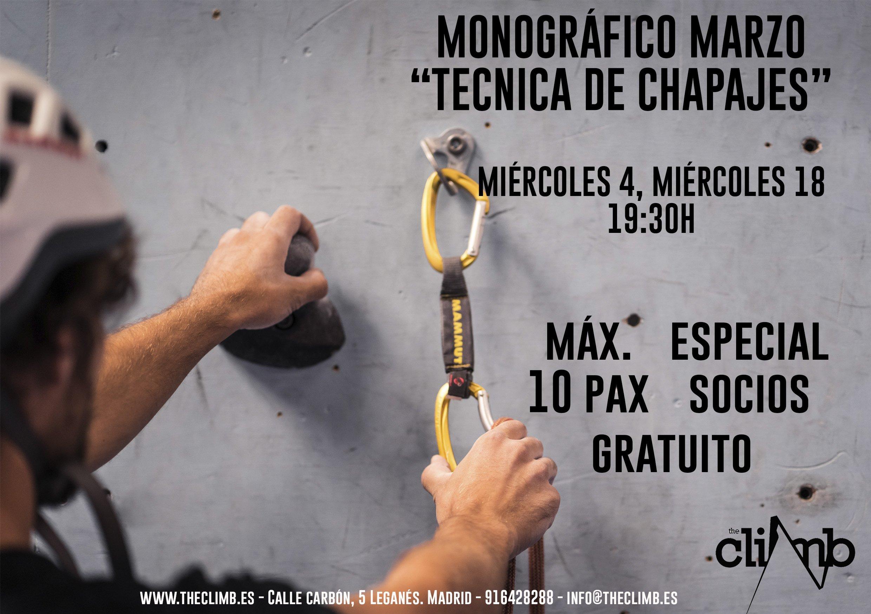 Monográfico Técnica de Chapaje