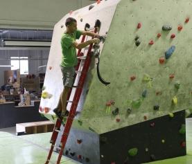 Nuevos circuitos azul y amarillo en The Climb.