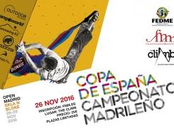 Final Copa de España Bloque y Open Madrid Escala en Bloque 2016