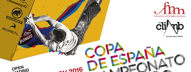 Final Copa de España Bloque y Open Madrid Escala en Bloque 2016