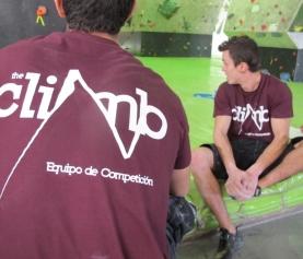 Presentación Equipo Competición Escalada The Climb 2015
