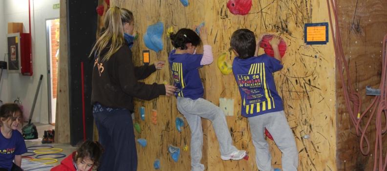 Celebrada la 1ª Prueba de la Liga de Escuelas Infantiles de la FMM en The Climb