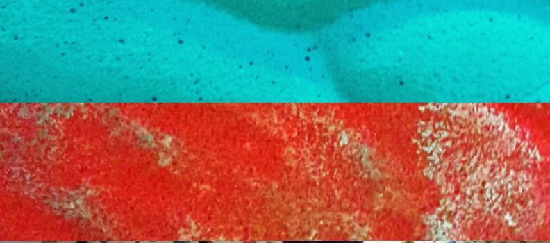 32 nuevos boulders. 18 rojos, 5 verdes fosfo, 9 azules