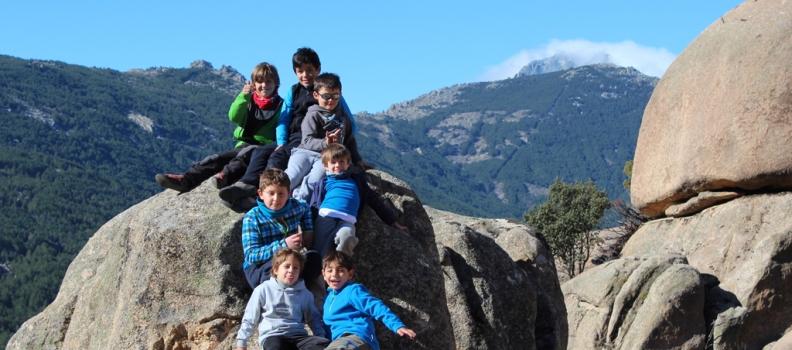 La Escuela de Escalada The Climb, en la Pedriza.
