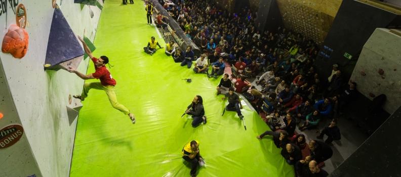 Copa España de Bloque y Open Madrid Skala N Bloke, todo un espectáculo