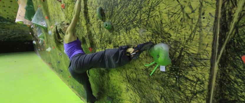 Uso y formas de pisar en la escalada.