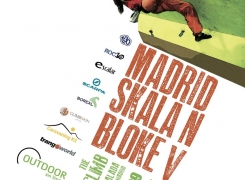 OPEN ESCALADA MADRID SKALA N BLOKE V