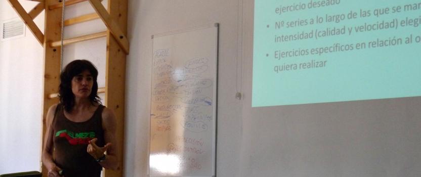 Curso: Metodología y Entrenamiento para Bloque por Eva López.