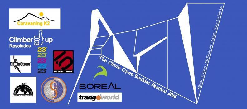 Novedades The Climb Open Boulder Festival 2016