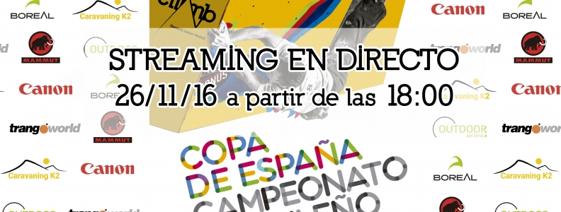STREAMING EN DIRECTO COPA ESPAÑA THE CLIMB