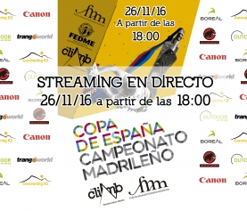 STREAMING EN DIRECTO COPA ESPAÑA THE CLIMB