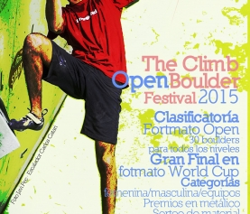 4º The Climb Open Boulder Festival el 31/01/15