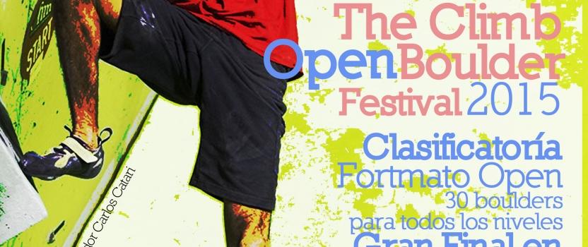 4º The Climb Open Boulder Festival el 31/01/15