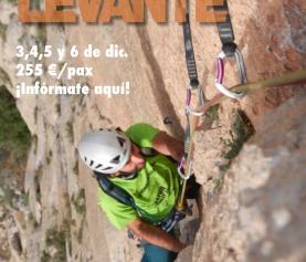 Viaje Escalada Deportiva Levante