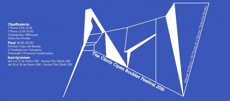 The Climb Open Boulder Festival 2016