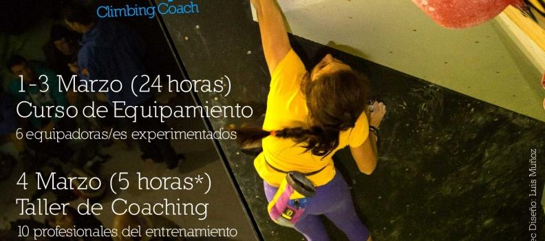 Cursos Eva López y Tonde Equipamiento, Training Camp y Coaching de Bloque de Competición