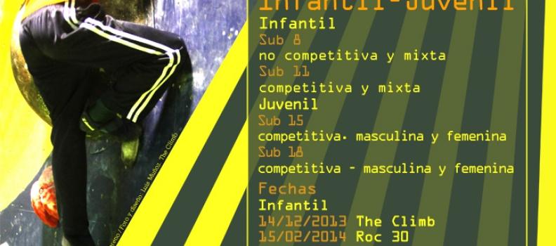 Comienza la Liga de Escuelas de Escalada 2013/2014 Infantil y Juvenil