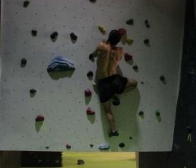 Entrenamiento de la Selección Española de Escalada en Bloque en The Climb